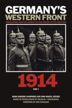 Germany's western front 1914